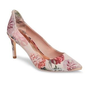 New Ted Baker Palace pumps satin